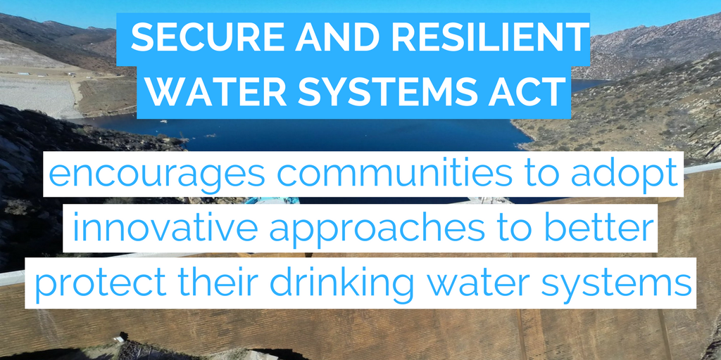 Secure and Resilient Water Systems Act