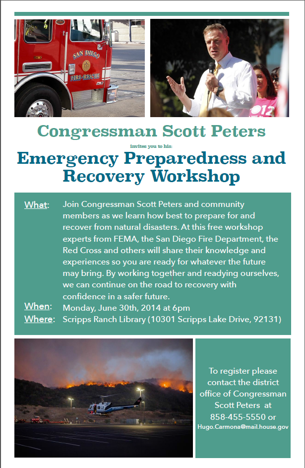 Emergency Preparedness & Recovery Workshop