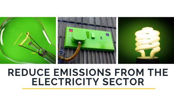 Reduce Emissions from the Electricity Sector